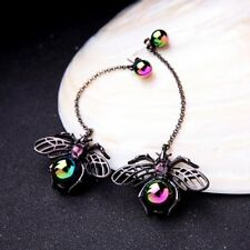 Personality Alloy Spider Insect Long Punk Vintage Drop Earrings Jewelry New