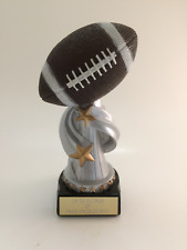 Football Trophy! Free Engraving! Ships In 1 Business Day!