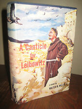 1st Edition A CANTICLE FOR LEIBOWITZ Walter M. Miller SCIENCE FICTION 3rd Print