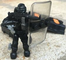 SWAT Team Police Officer Tactical Unit Minifigure (#1) Works With Most LEGO Sets
