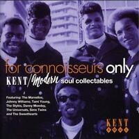 FOR CONNOISSEURS ONLY VOLUME 1 Various NEW & SEALED NORTHERN SOUL CD (KENT) R&B