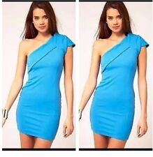 UK8 Asos  Paprika Origami party Dress With One Shoulder - Bought It at Asos