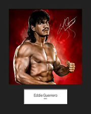 EDDIE GUERRERO #1 (WWE) Signed 10x8 Mounted Photo Print - FREE DELIVERY