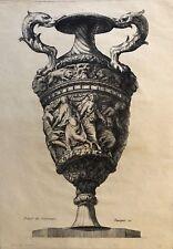 POLIDORO DA CARAVAGGIO (c.1497-c.1543) gravé par Pequegnot estampe 1856 Italia