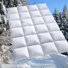 100% sibirische Daunen Bettdecke Daunendecke Daunenbett 155x220 cm f. Allergiker