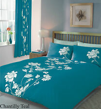 CHANTILLY DUVET COVER SET IN ALL SIZE OR MATCHING CURTAINS OR MATCHING SHEET