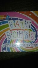 Bath Bombs for Kids with Toys Inside for Girls Boys