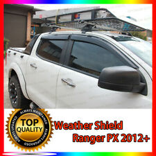 Weather Shield Weathershield Window Visor suit Ford Ranger MK1 MK2 MK3 2012-2020