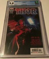 Marvel THOR #5 CGC 9.8 FIRST APPEARANCE OF THE BLACK WINTER DONNY CATES IN HAND