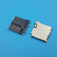 1PC TF Easy Push Type 8 Pin Micro SD Memory Card Slot Socket Connector Deck
