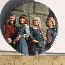 More details for vtg og 1970s abba 55mm pin badge eurovision voyage