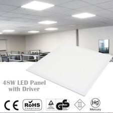 12 x 48W LED Panel Light Recessed Celing Cool White 6500K 600 x 600 x 10mm