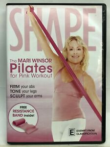 Shape - Pilates - DVD - AusPost with Tracking (DVD ONLY No Band Included)