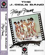 THE J GEILS BAND FREEZE FRAME IMPORT SAUDI RC CASSETTE ALBUM POP ROCK