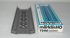 MÄRKLIN MARKLIN H0 : 7268 elemento di rampa nuovo in or. box : anno 1976 +++++++