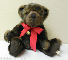 "MWT 2014 Boyds ""MORGAN"" Bear Christmas Holiday Plush #4041854 FREE SHIP"