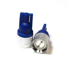 Blue LED Superlux Side / Park Light Bulbs 'HID' Xenon Upgrade Lamps