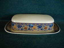 Mikasa Bordeaux CAA35 Covered Butter Dish with Lid