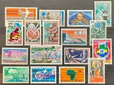 Gabon. Page of Pictorial Stamps. 1966-71. MNH. (R124)