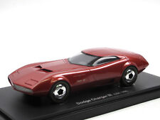 AutoCult Avenue 43 Dodge Charger III Concept Car 1968 rot 1:43 Limited Edition