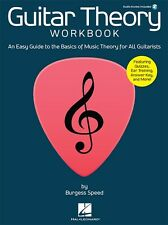 GUITAR THEORY WORKBOOK GUITARISTS EASY GUIDE TO THE BASICS OF MUSIC THEORY BOOK
