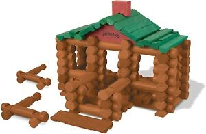 100th Anniversary Tin 111 All Wood Pieces High Quality Maple Wood LINCOLN LOGS