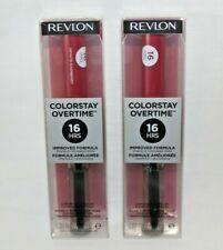 2 Pack! Revlon ColorStay Overtime Liquid Lipcolor Choose Your Favorite