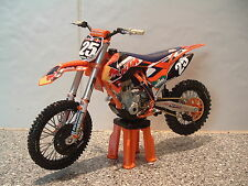 2014 TOY MOTOCROSS BIKE MODEL 1:12 MARVIN MUSQUIN RED BULL KTM #25 SXF 250 GIFT