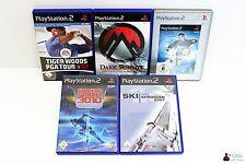 Playstation PS2 Spiele Set Paket - 5x Sport Spiele: Snowboard, PGA Tour, Ski