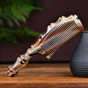 Natural Yak Horn Comb Handmade Boutique Yak Horn Hair Comb Massage/Scalp Brush