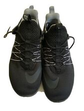 Size 6 Kids Unisex Boys/Girls Black Nike Running Shoes Trainers Sneakers