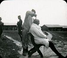 COËTQUIDAN 1906 - Salon de Coiffure - Bretagne Positif Verre 10 x 8 - 92