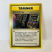 Slot Machine Banned Trainer Card Japanese Pokemon Card Neo Genesis