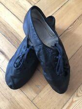 CAPEZIO Black Split Sole Suede Sole Leather Jazz Dance Shoes, UK5