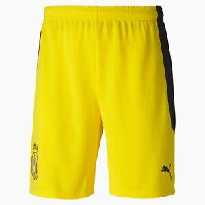 Puma BVB Borussia Dortmund Shorts Replica kurze Hose gelb Short 2021 Gr. S M XXL
