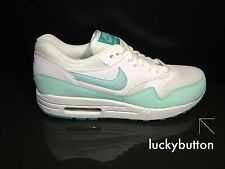 NIKE AIR MAX 1 ESSENTIAL WOMENS RUNNING TRAINING SHOES WHITE/MINT US 10 EUR 42