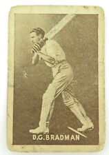 ".c1937 RARE BRADMAN CARD. GRIFFITHS BROS ""ASK MOTHER FOR CRUISING TOFFEE"""