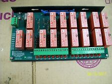 COMPUTER CONVERSIONS BOARD with (16) DC OUTPUT RELAY ODC5 , TRSS-1