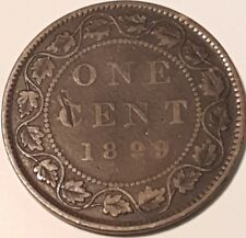 1899 Canadain Large Penny  ID #A5-68
