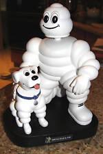 "MICHELIN MAN & DOG 7"" BOBBLEHEAD DOLL PROMOTIONAL ITEM MICHELIN TIRE MAN L@@K"