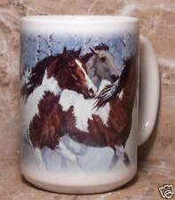 Horse Mug Winter Horses Pattern Mug