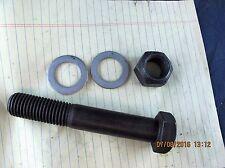 """1"""" X 6"""" 8-UNC Grade 8 Hex Head Cap Screw, Top Lock Nut, 2 Washers [C7Floor]"""