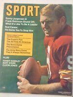 Sport Magazine Sonny Jurgensen Frank Robinson October 1969 No ML  051819nonrh