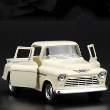 "Chevrolet Pickup 1955 Model Cars Toys 5"" Open two doors Gifts & Collection Beige"
