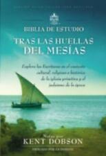 BIBLIA DE STUDIO TRAS LAS HUELLAS DEL MESFAS - DOBSON, KENT (EDT) - NEW BOOK