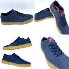 Nike SB Bruin Hyperfeel Suede Low Top Skate Shoe 831756-449 Obsidian Blue Sz 10