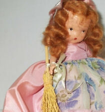 "Vintage Bisque 5 1/2"" Storybook Doll #185 ""Saturday'S Child"" w/ Stand, No Box"