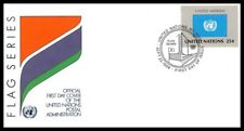 Nations Unies (FLAG SERIES) 1989 FDC - 2