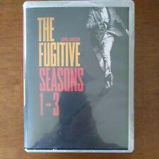 The Fugitive Seasons 1-3, 24 DVD's, 1960's TV Series starring David Janssen, VG+