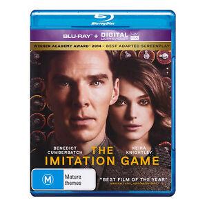 The Imitation Game Blu-ray New Benedict Cumberbatch, Keira Knightley - Free Post